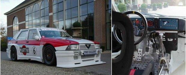Se vinde una dintre primele masini de curse ale lui Nicola Larini. Cat costa aceasta Alfa 75 IMSA