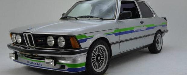 Se vinde unul dintre primele BMW-uri modificate de Alpina. Cat costa acest exclusivist E21