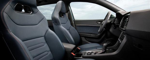 SEAT a publicat acum primele imagini si detalii oficiale. Cea mai noua masina a spaniolilor are motor de 300 CP si 4x4 in standard!