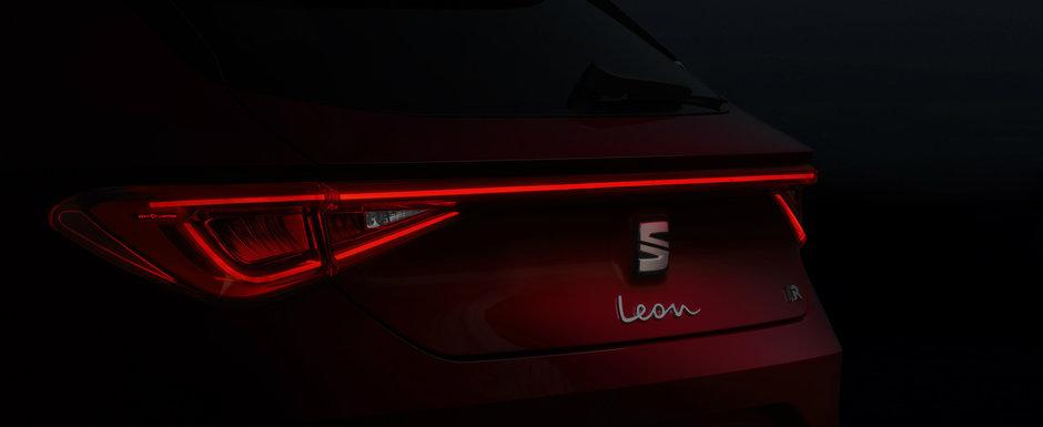 SEAT a publicat deja prima fotografie a noului Leon 4. Lansarea oficiala va avea loc abia peste doua saptamani