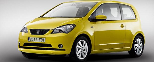 SEAT Mii - Un nou derivat al germanului VW Up!