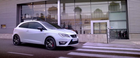 SEAT ne face turul noii Ibiza Cupra