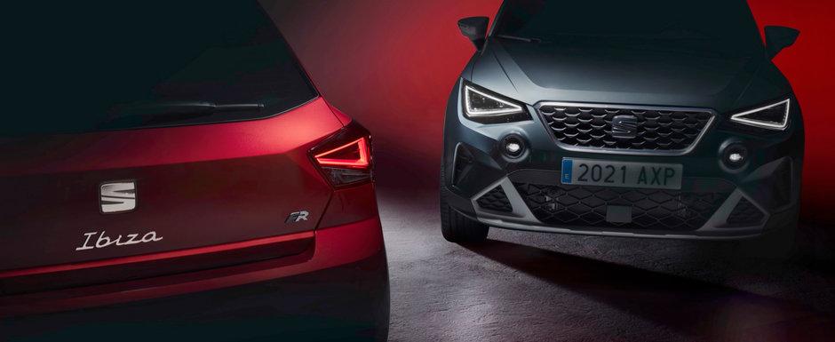 SEAT pregateste un facelift pentru cele mai ieftine doua masini pe care le vinde acum. Spaniolii tocmai au anuntat DATA LANSARII OFICIALE