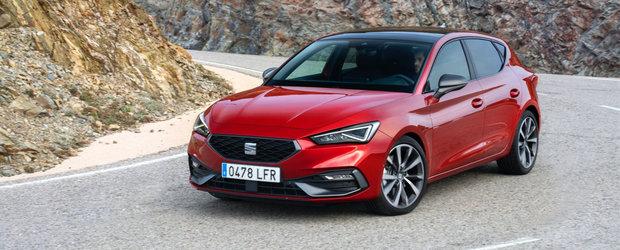 SEAT vrea sa te faca sa uiti de Golf 8 si lanseaza noul Leon intr-o versiune cu motor de 190 CP, plus transmisie DSG