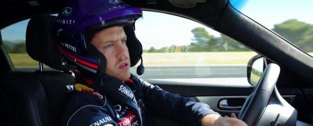 Sebastian Vettel si aportul sau ca si Director al Diviziei de Performanta pentru Infiniti