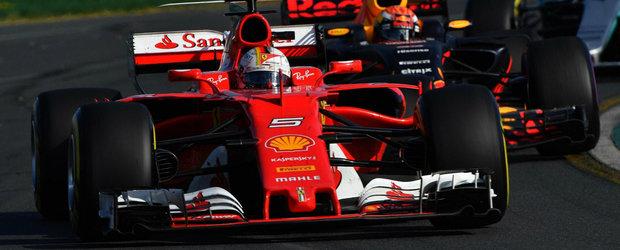 Seceta a luat sfarsit. Sebastian Vettel castiga prima cursa a noului sezon de Formula 1