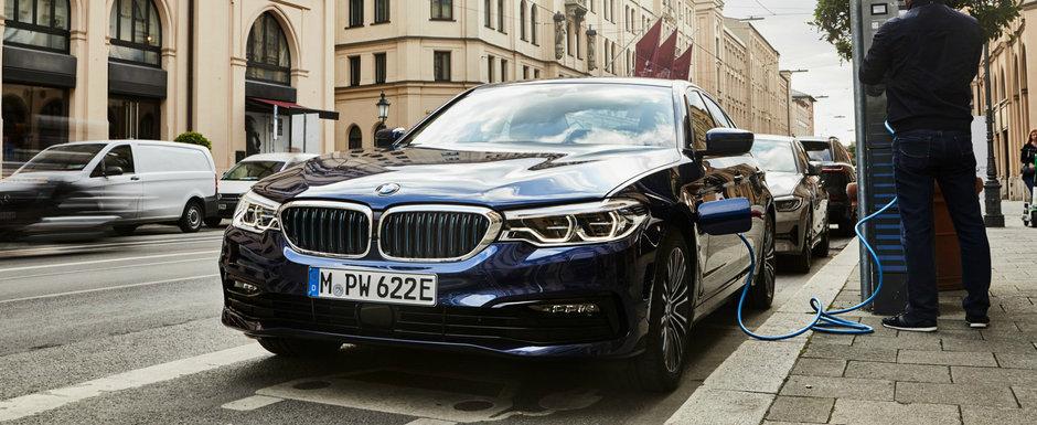 Sedanul electrificat de la BMW a primit imbunatatiri. Acum consuma numai 1.6 litri/100 de kilometri