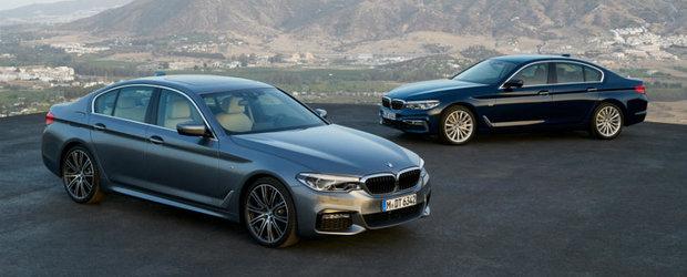 Sedanul momentului mai are putin si ajunge in Romania. Uite cat va costa noul BMW Seria 5 la noi in tara