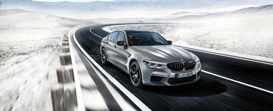 Sedanurile de performanta au de azi un nou rege. BMW lanseaza oficial M5 COMPETITION cu 625 de cai
