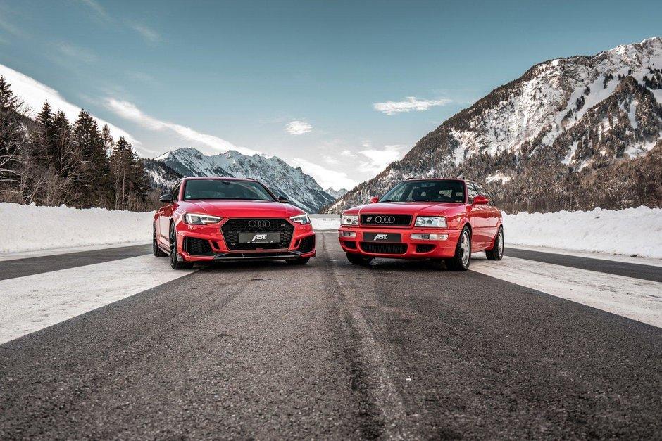 Sedinta foto ABT cu Audi RS2 si Audi RS4 Avant