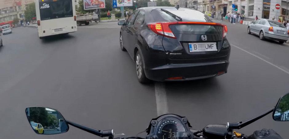 Sefa prostiei in materie de soferie in Romania conduce o Honda Civic si trebuie sa fugi de ea!