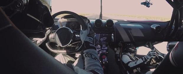 Sefii Bugatti dau play si plang. VIDEO de la bord cu recordul lui Koenigsegg Agera RS