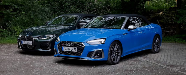 Sefii de la Audi rad, cel mai probabil, in hohote. Cum arata noul BMW Seria 4 pus langa S5