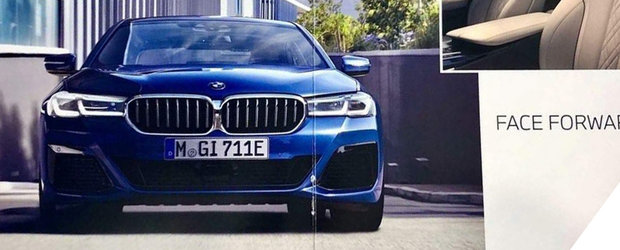 Sefii de la BMW plang de nervi. Alte doua poze oficiale cu noul Seria 5 au ajuns pe internet mai devreme decat trebuia