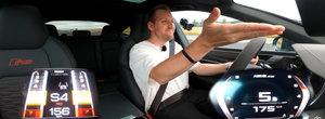 Sefii de la BMW rad, cel mai probabil, in hohote. Noul M5 CS umileste la liniute Audi RS7 Sportback