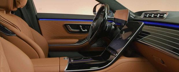 Sefii de la BMW vor intra in sedinta la vederea acestor imagini. Mercedes publica peste 80 de fotografii de la interiorul noului S-Class