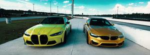 Sefii de la Mercedes si Audi rad, cel mai probabil, in hohote. Cum arata noul BMW M4 in comparatie cu vechiul model