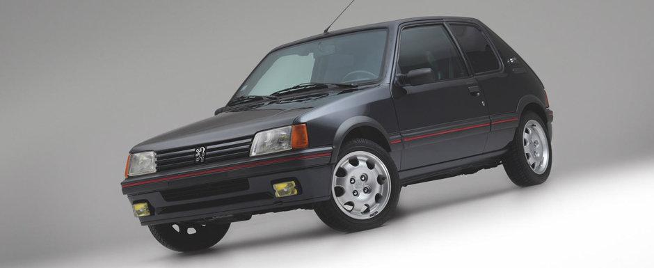 Seful Louis Vuitton l-a cumparat in 1990 ca sa se deplaseze incognito. Ce dotari nemaiintalnite are acest Peugeot 205 GTI