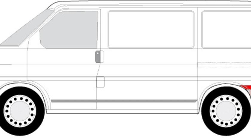 Segment reparatie aripa spate stanga dupa roata VW TRANSPORTER IV intre 1990-2003