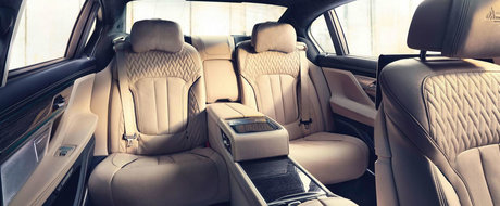Segmentul limuzinelor de lux are un singur lider: BMW M760Li Individual