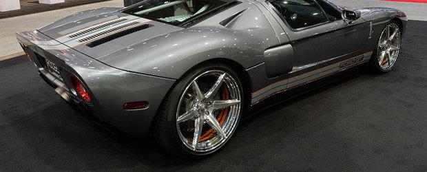 SEMA 2014: Chip Foose ne prezinta propriul Ford GT modificat