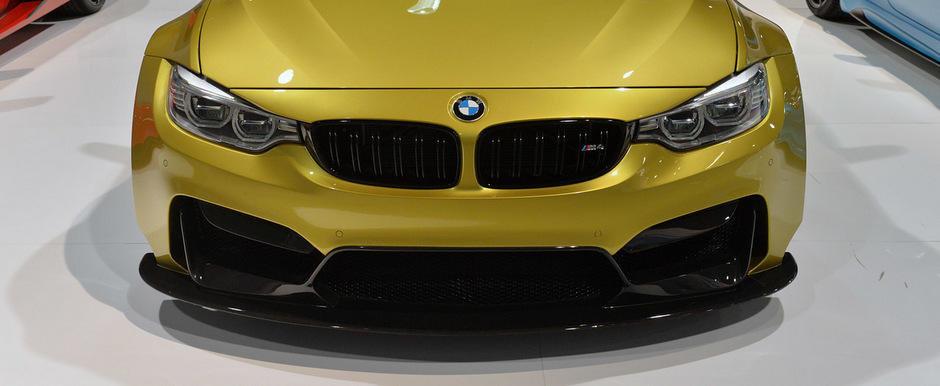 SEMA 2014: Vorsteiner ne incanta privirile cu primul BMW M4 Widebody din lume