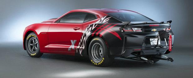 SEMA 2015: Noul Chevrolet Camaro COPO isi traieste viata pe sfertul de mila