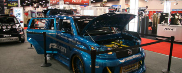 SEMA: Scion Show-Off
