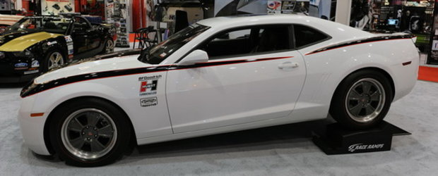 SEMA Show 2010: Chevrolet Camaro by Hurst - Muscle car turbo in Las Vegas!