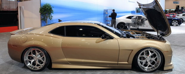 SEMA Show 2010: Patru Chevrolet Camaro la care sa visezi!