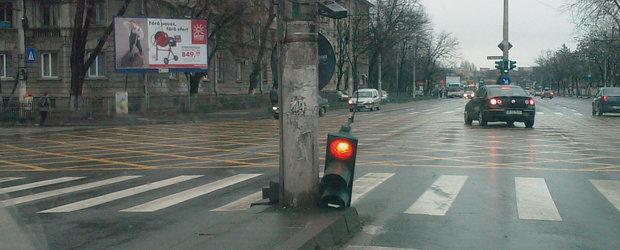 Semafoare defecte in Bucuresti