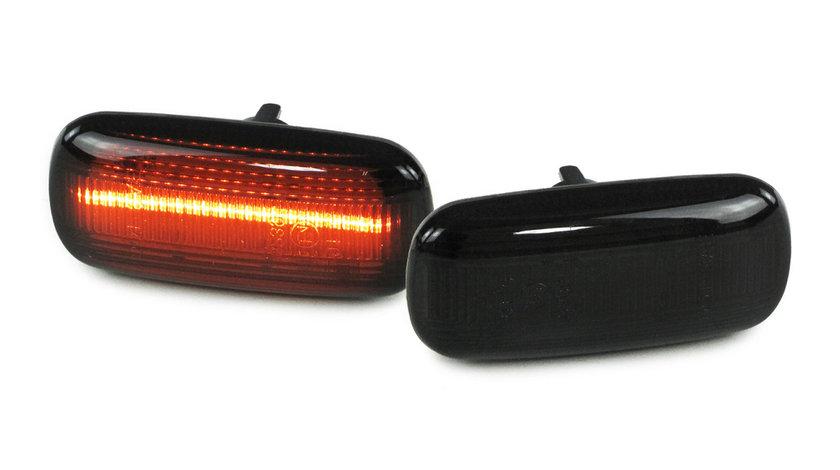Semnale aripa Audi A4 B6 B7 TT 8J A3 8P A6 C5 A8 D3 Lightbar Negru