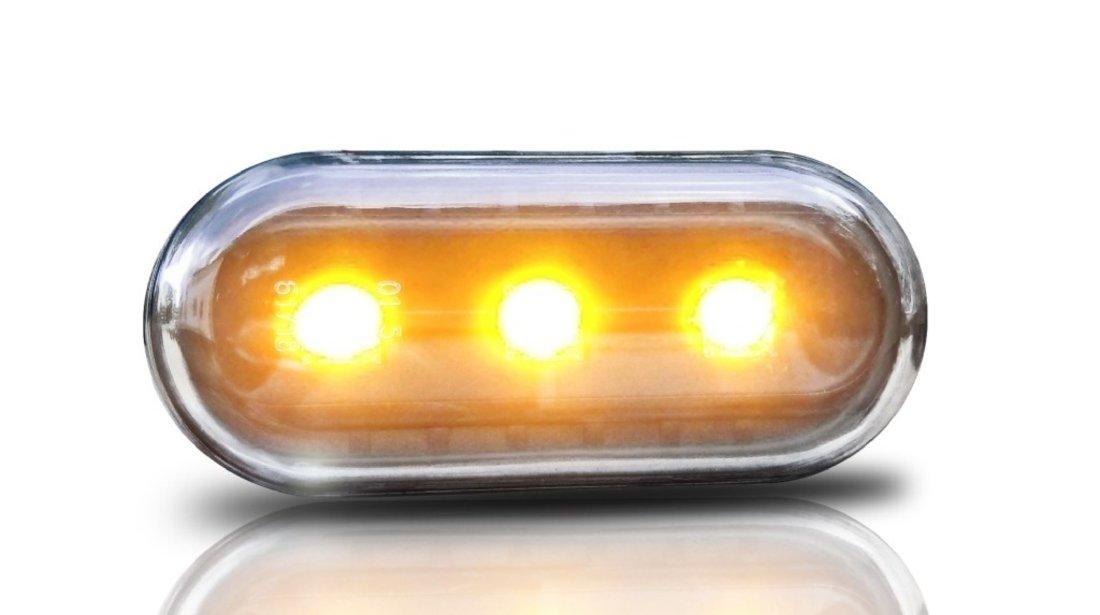 Semnale Aripa LED VW GOLF 3 4, VENTO, LUPO, PASSAT B5 ,POLO 2000 , LEON ClarNegru