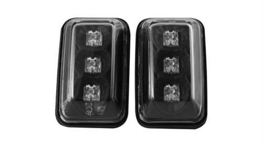 Semnale Aripa LED, VW GOLF/JETTA , POLO 91-94 Clar Negru