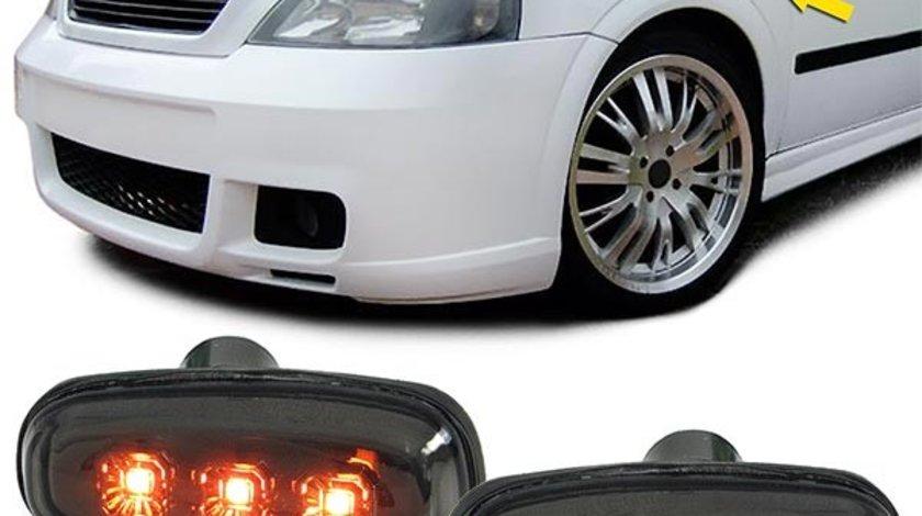 Semnale aripa Opel Astra G intre 1997-2004 Zafira A intre 1999-2005 negru LED