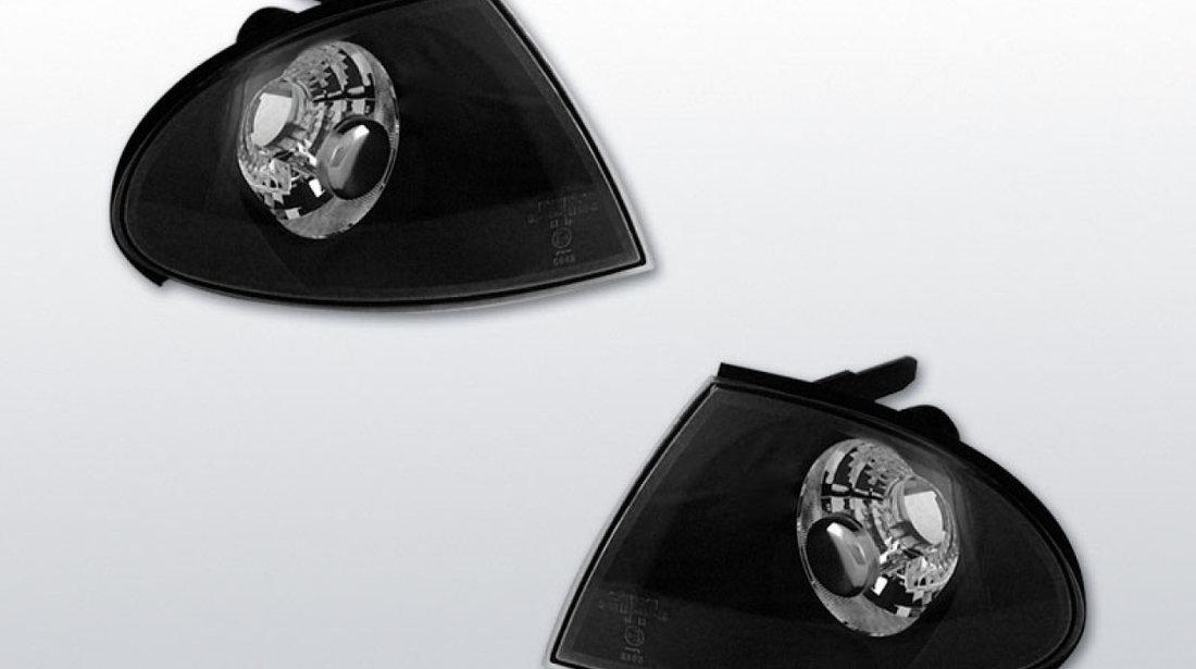 Semnale BMW E46 98-01 Negru Sticla Clara