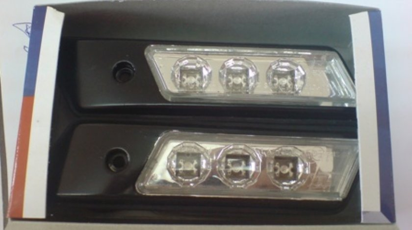 Semnale E36 negru cu LED