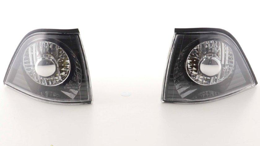 Semnale fata E36 Coupe 91 98 negru cu capac