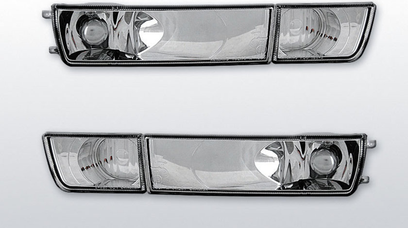 Semnale fata VW Golf 3 / Vento Cromat fara Proiector