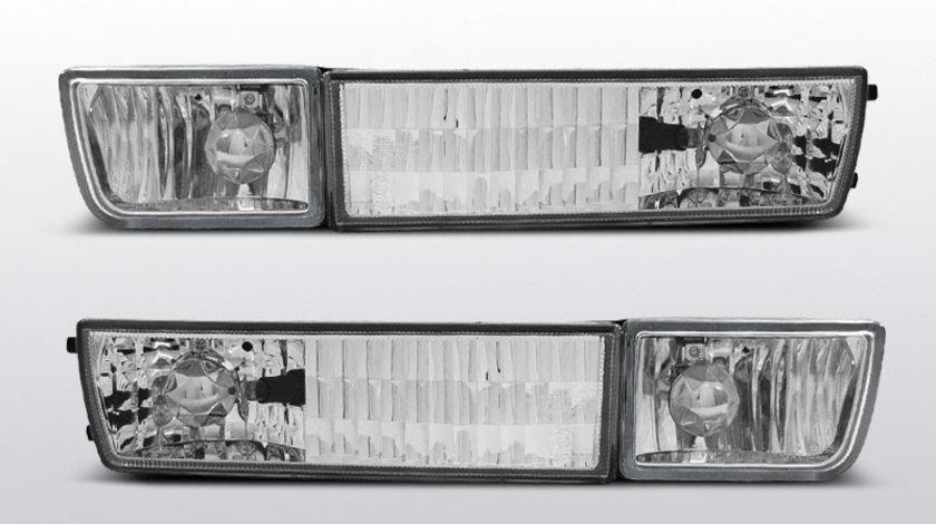 Semnale fata VW Golf 3 / Vento cu Proiector model Cromat