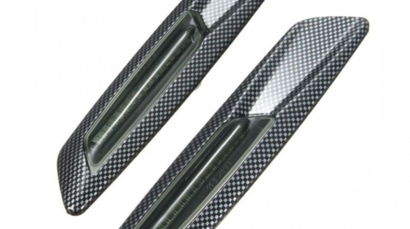 Semnalizare Aripa Led Carbon Bmw Seria 3 E90 2004-2012 Set 2 Buc BTLL-104