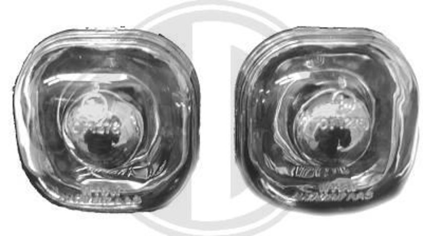 SEMNALIZARI CLARE AUDI A4 B5 FUNDAL CROM -COD 1030178