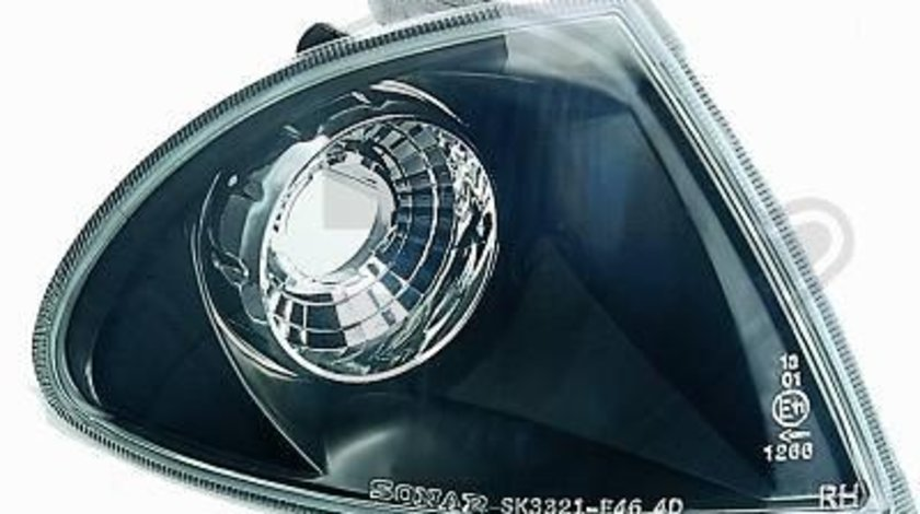 SEMNALIZARI FAR CLARE BMW E46 LIM FUNDAL BLACK -COD 1214376
