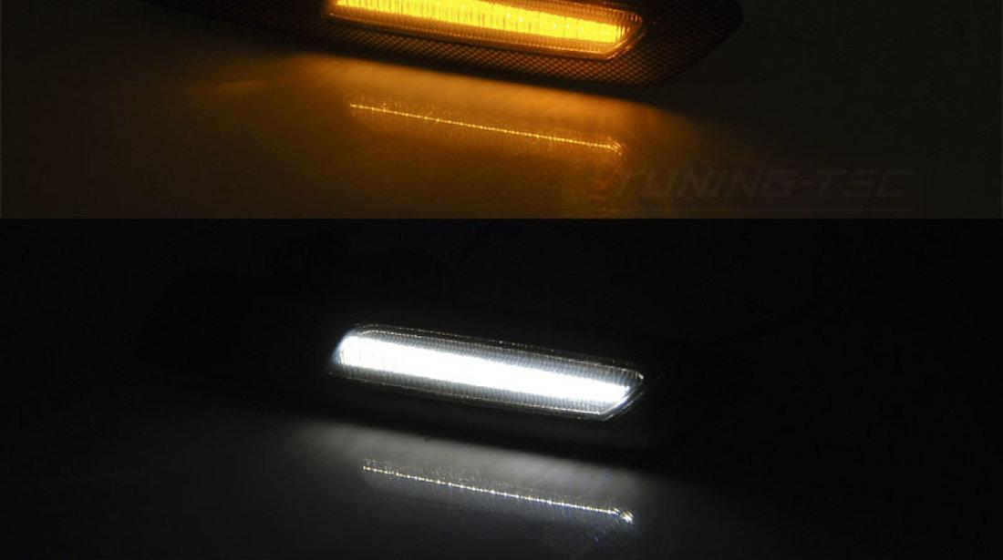 Semnalizari laterale BMW E60/ E90/ E92/ E82 LED F10 STYLE SMOKE Negru