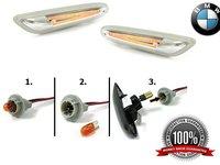Semnalizari laterale BMW LED/FIBRA OPTICA - BMW E87 E46 E90 E60
