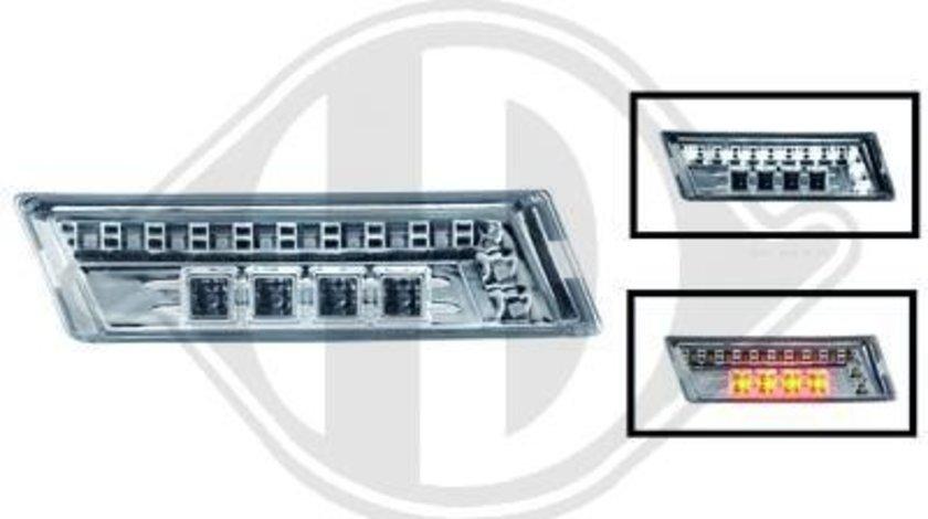 SEMNALIZARI LATERALE CU LED BMW E36 FUNDAL CROM -COD 1213578