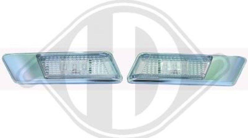 SEMNALIZARI LATERALE CU LED BMW FUNDAL CROM -COD 1213177