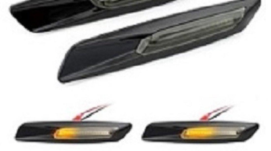 Semnalizari LED laterale Bmw E60/E90/E92 Black Smoke F10 Style DYNAMIC