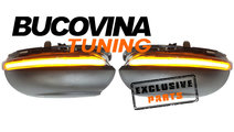 SEMNALIZARI SECVENTIALE LED OGLINZI VW GOLF 6 (08-...