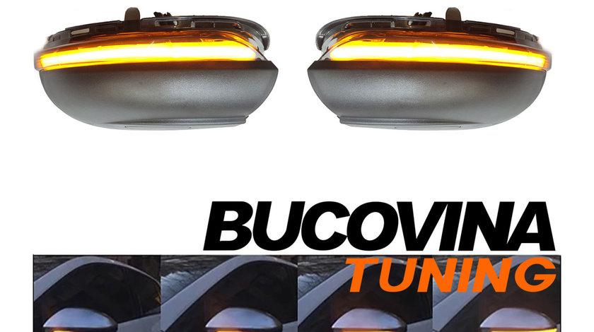 SEMNALIZARI SECVENTIALE LED OGLINZI VW GOLF 6 (08-12)